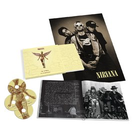 IN UTERO 20TH ANNIVERSARY LIMITED EDITION 3 CDS + DVD + 56 PAGE BOOK IMPORTADO