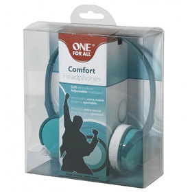 SV 5332 COMFORT ON EAR GREEN HEADPHONES