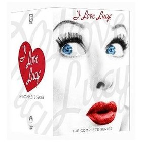 I LOVE LUCY: THE COMPLETE SERIES 33 DVD BOXED SET FULL FRAME DUBBED SPAIN SENSORMATIC IMPORT