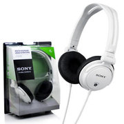 MDR-V150 MONITOR HEADPHONES CASQUE DE MONITORING WHITE