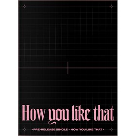 HOW YOU LIKE THAT POSTER PHOTO BOOK ASIA IMPORT