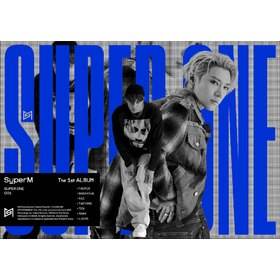 SUPERM THE 1ST ALBUM SUPER ONE (UNIT C VER. KAI & USA IMPORT