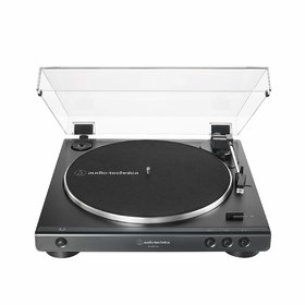 AT-LP60XBT-BK GM FULLY AUTOMATIC WIRELESS BELT-DRIVE TURNTABLE BLACK FRONT