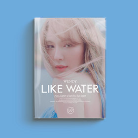 LIKE WATER (PHOTO BOOK VERSION) POSTER + BOOKLET POSTCARD PHOTO BOOK PHOTOS ASIA IMPORT